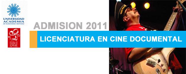 Grado académico: Licenciado/a en Cine Documental Duración: 3 semestres Horario: Vespertino La Licenciatura en Cine...
